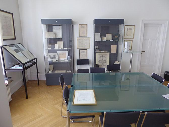 Archivraum des Friedrich Engelhorn-Archives in Mannheim