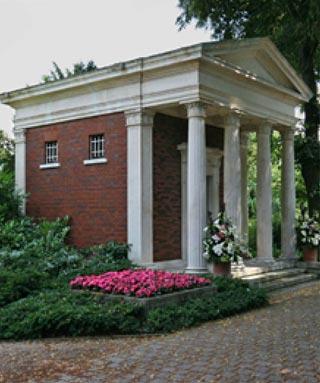 Mausoleum der Familie von Friedrich Engelhorn in Mannheim