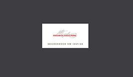 Buchcover Skizzenbuch Friedrich Engelhorn - hier klicken, um das Inhaltsverzeichnis anzuzeigen